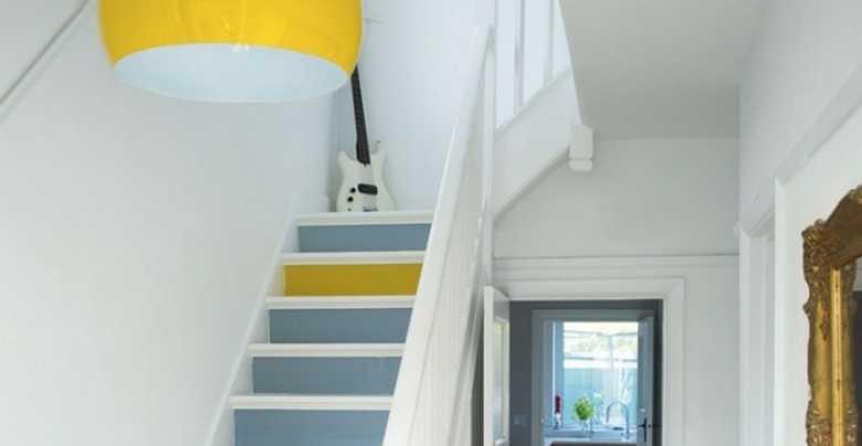 trap in 2 kleuren